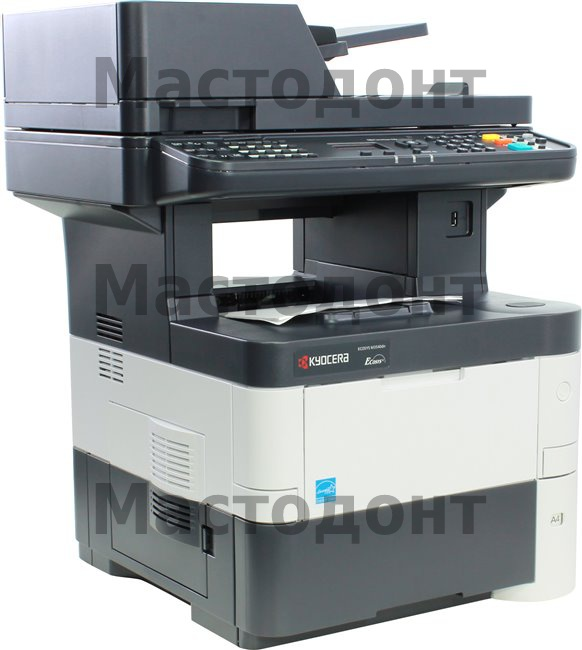 Лазерное МФУ Kyocera M3540DN (А4, 40 ppm, 1200 dpi, 25-400%, 1024 Mb, USB 2.0, Network, цв. сканер, факс, автоподатчик, дуплекс, пусковой комплект)
