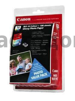 Набор Canon BCI-16 Color value pack (9818A017)